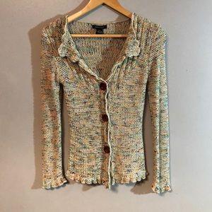 bcbgmaxazria bohemian sweater Sz S. P045
